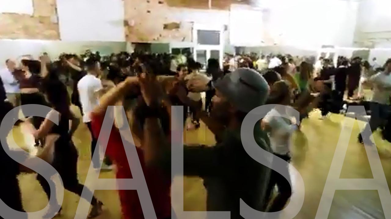 스페인 바르셀로나 살사파티 프리댄스